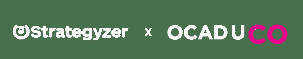 Strategyzer x OCAD U CO logo