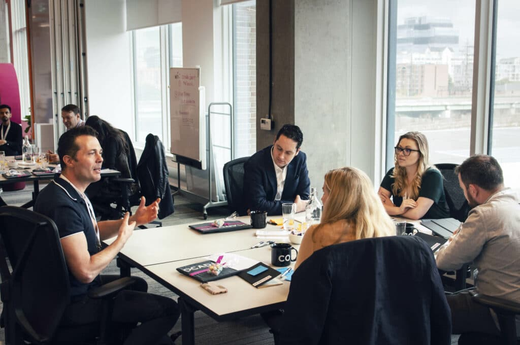 OCAD U CO Executive Education Design Thinking Workshop - Facilitator - Round Table Discussion